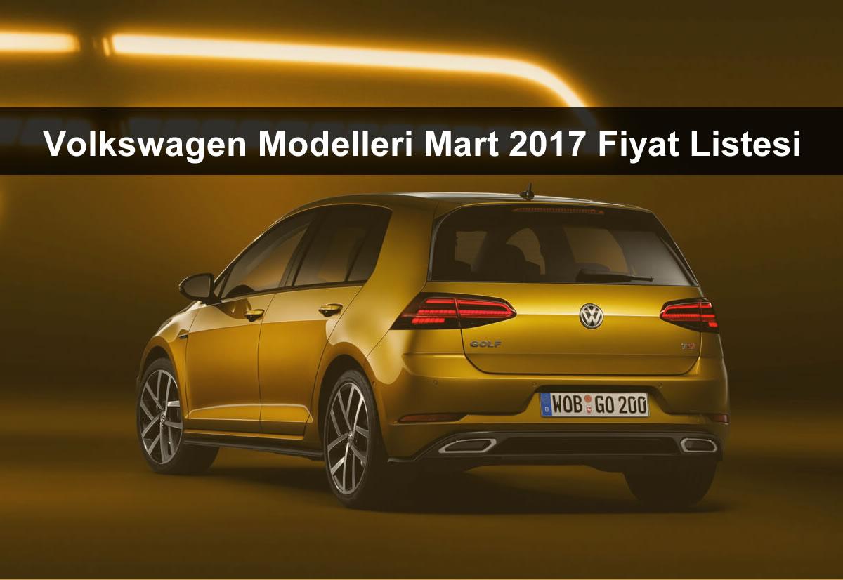 Volkswagen Mart 2017 Fiyat Listesi