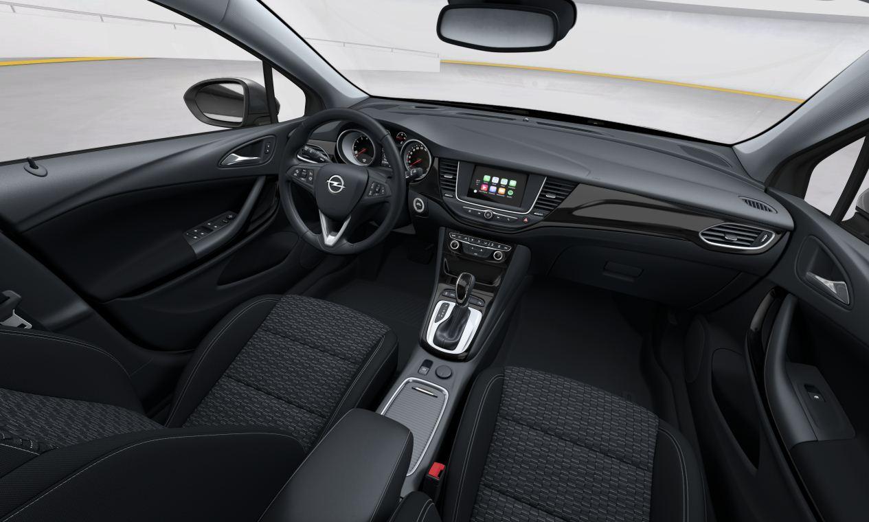 Yeni Opel Astra K OPC Line Sport 1.6 lt 200 PS İçi
