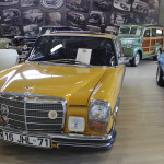 2017 İstanbul Autoshow Klasik Araç Mercedes W115