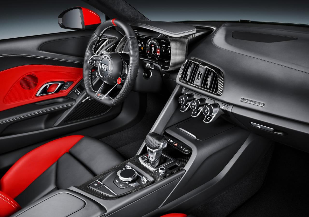 Yeni Audi R8 Coupe Audi Sport Edition Donanımları
