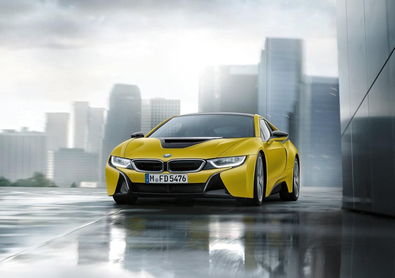 2018 Yeni BMW i8 Protonic Frozen Yellow Özellikleri