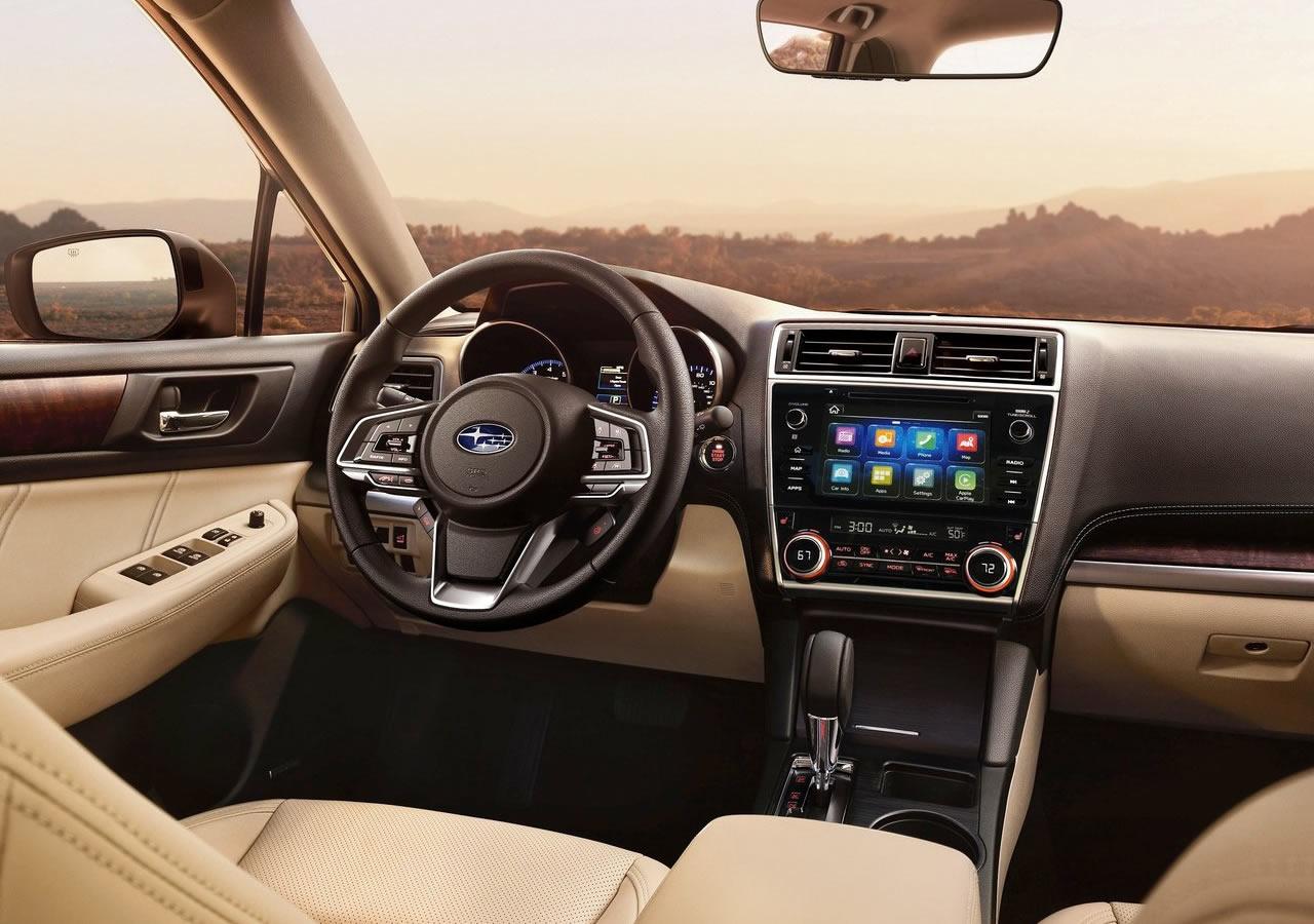 2018 Yeni Subaru Outback Kokpiti