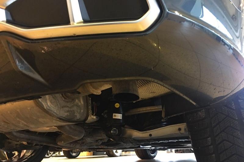 Yeni Audi SQ5 Egzoz Çıkışları