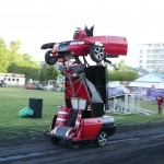 Lada Vega Transformers Optimus Prime Fotoğrafları