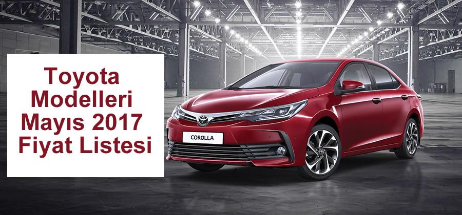 Toyota Mayıs 2017 Fiyat Listesi