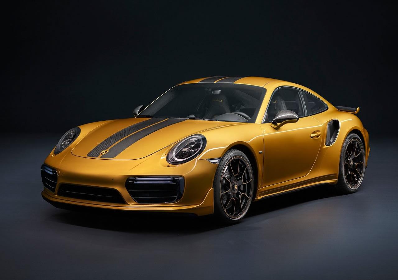 2017 Yeni Porsche 911 Turbo S Exclusive Özellikleri