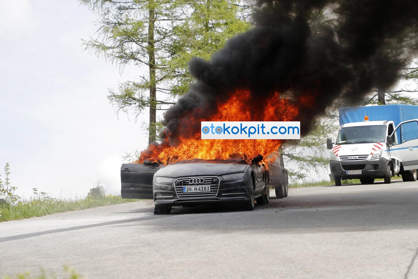 2019 Yeni Kasa Audi A7 Yandı