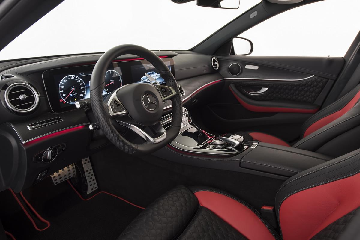 Brabus 2017 Mercedes E Serisi T-Model