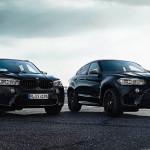 2017 Yeni BMW X5 ve X6 M Black Fire Edition