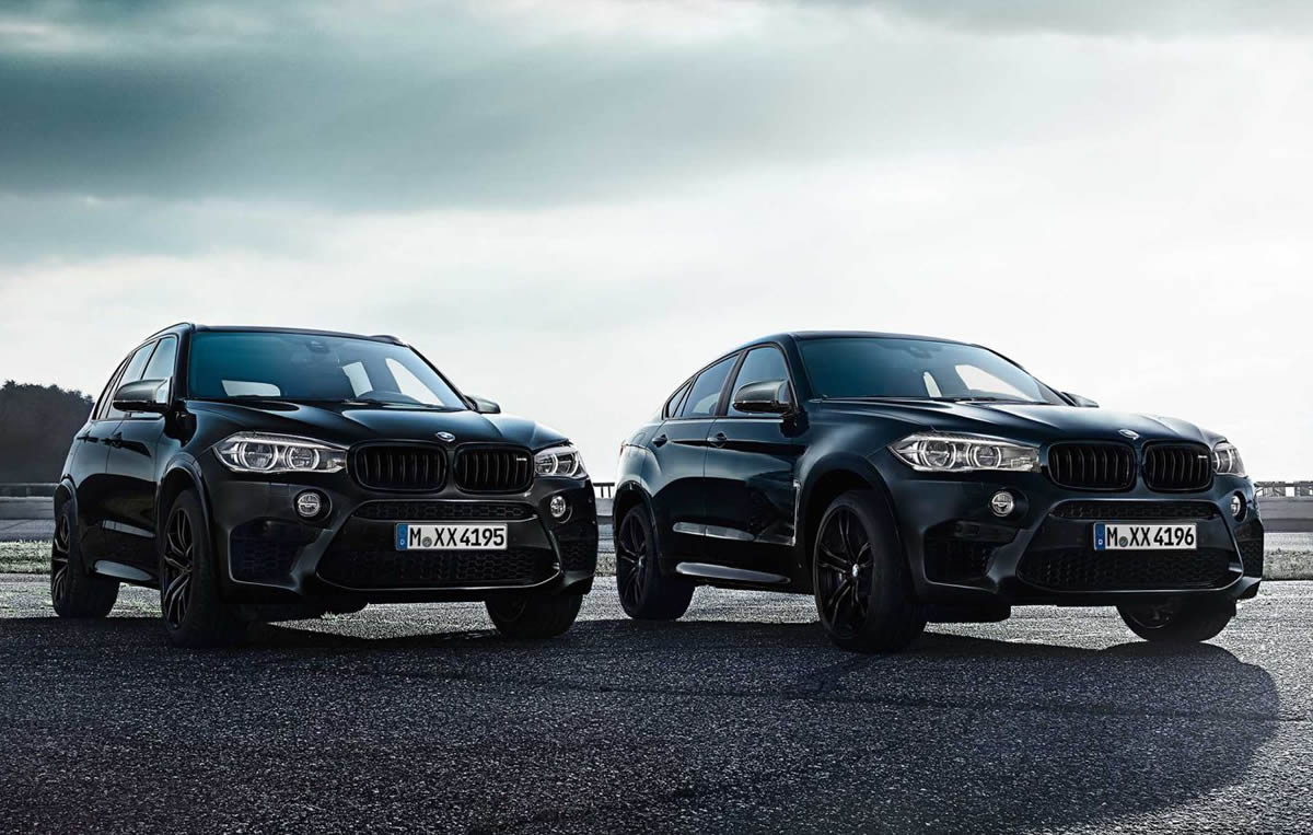 2017 Yeni BMW X5 ve X6 M Black Fire Edition