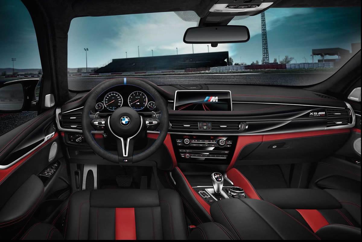 2017 Yeni BMW X5 M Black Fire Edition Özellikleri