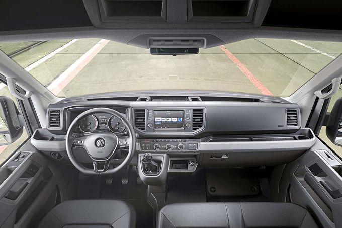 2018 Yeni Kasa Volkswagen Crafter İçi