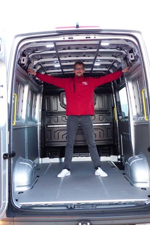 2018 Yeni Kasa Volkswagen Crafter Hacmi