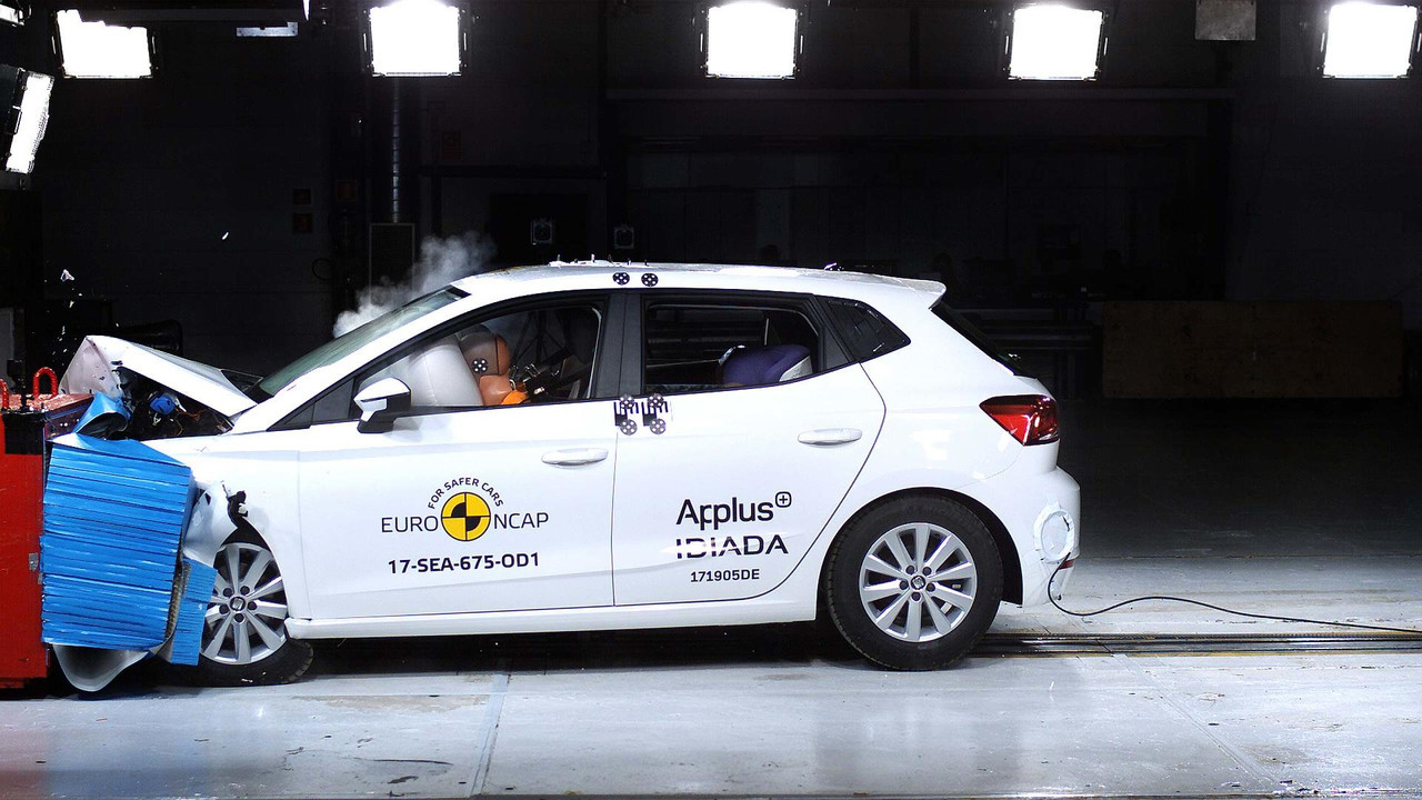 2017 Seat Ibiza EuroNcap Çarpışma Testi