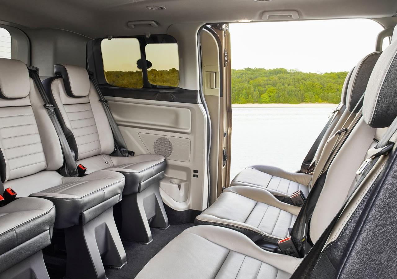 2018 Yeni Ford Tourneo Custom İçi
