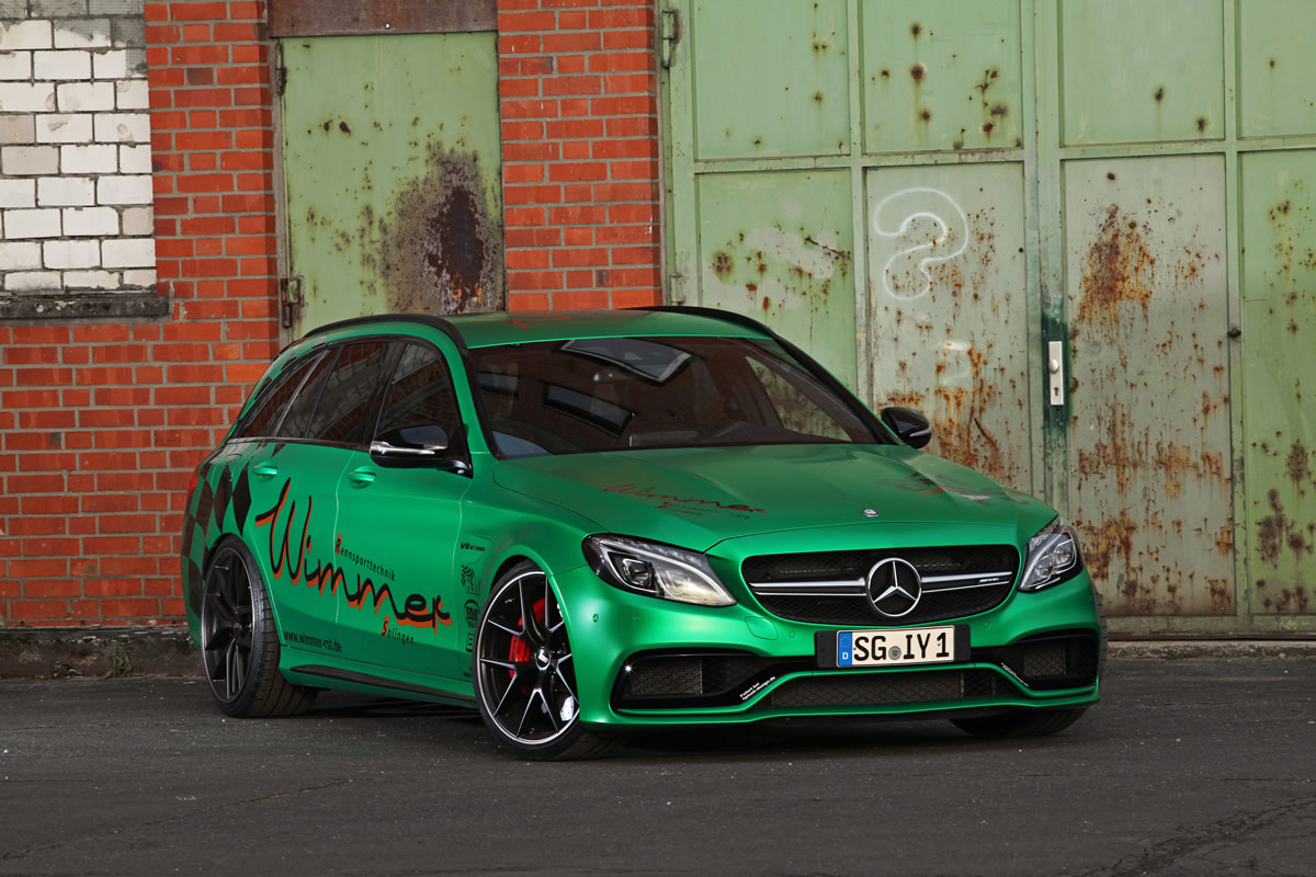 Wimmer Mercedes-AMG C63s Estate