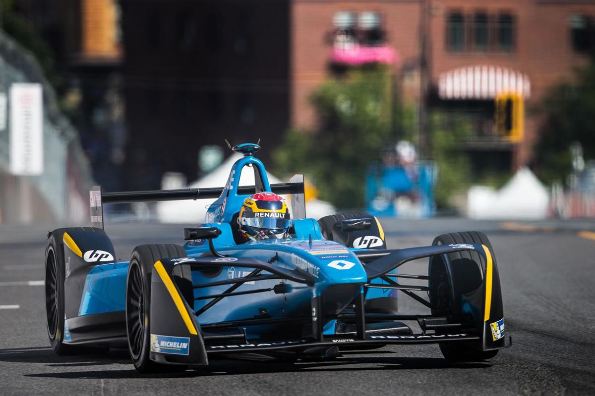 2017 Formula E Şampiyonu Renault e.dams Takımı