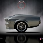 Tek Dingilli Mustang