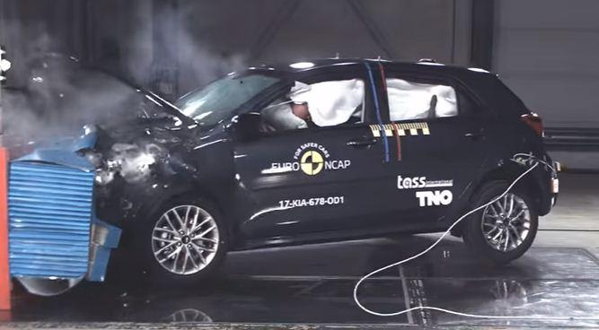 2017 Kia Rio Euro Ncap