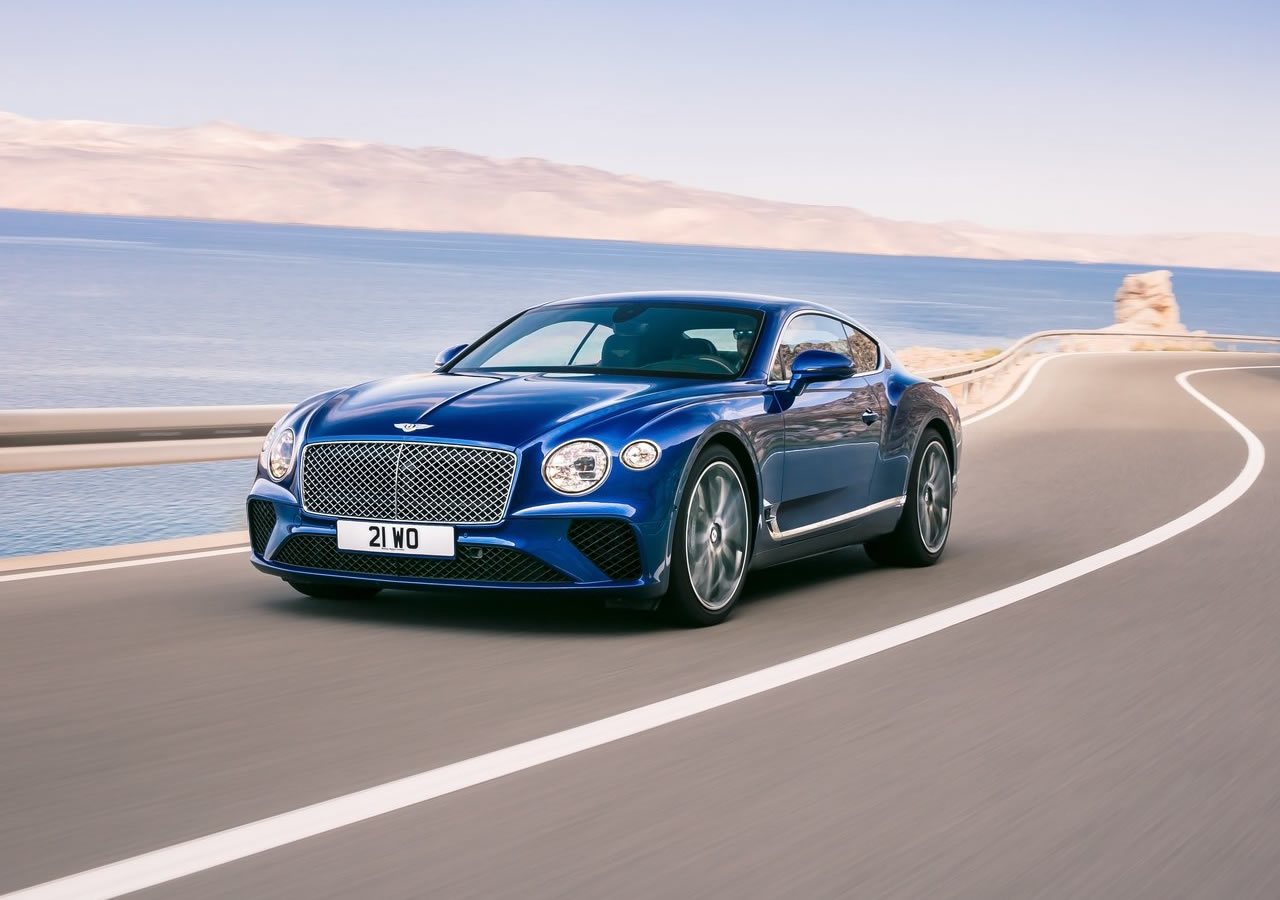 2018 Yeni Kasa Bentley Continental GT