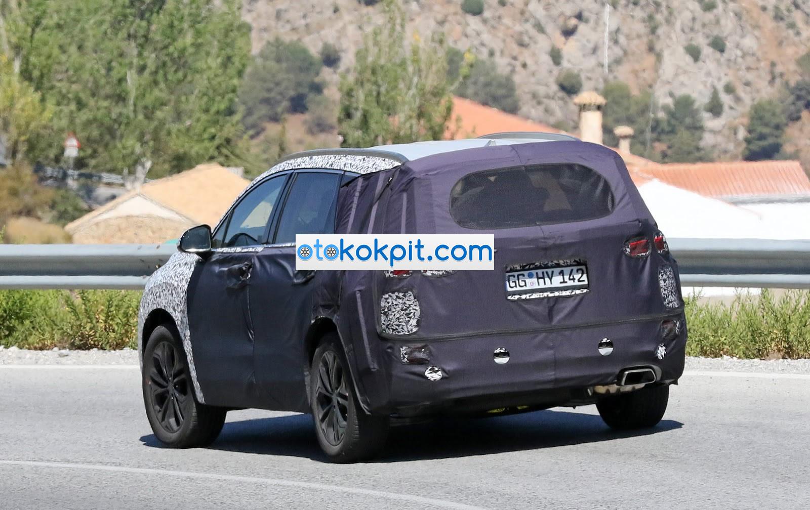2019 Yeni Kasa Hyundai Santa Fe MK4