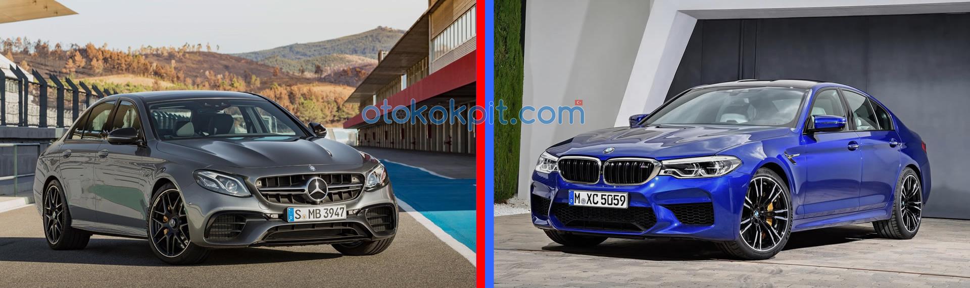 2018 Yeni Kasa BMW M5 (F90) - Mercedes-AMG E63 S Karşılaştırması