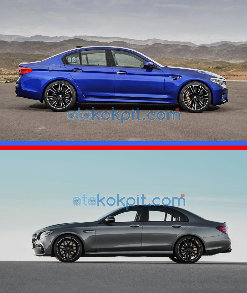 BMW M5 (F90) - Mercedes-AMG E63 S