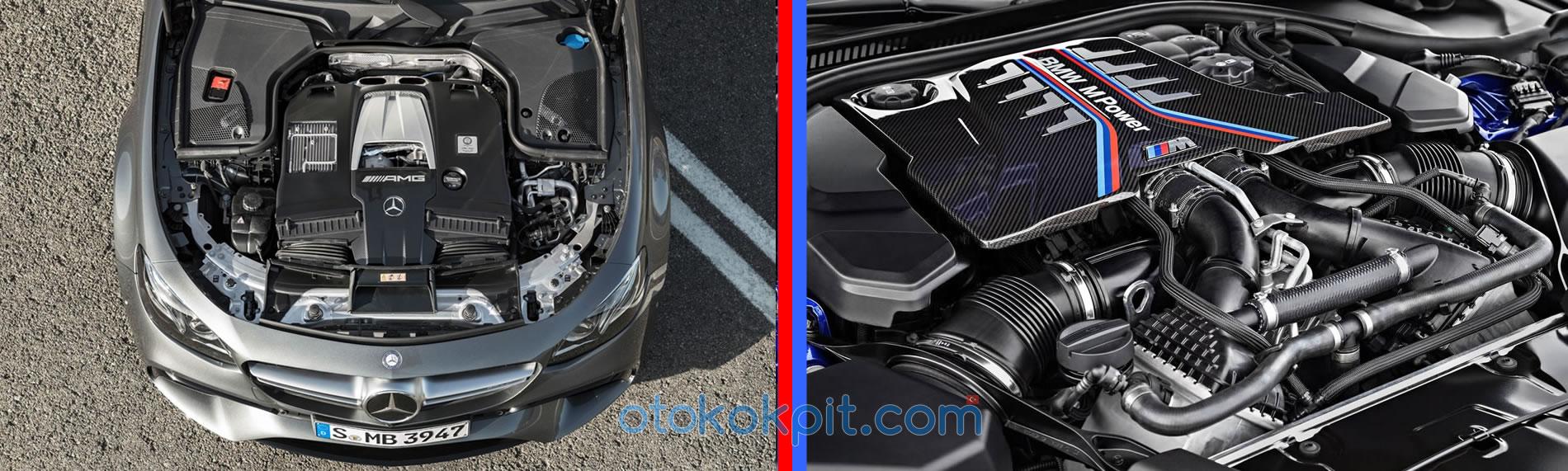 BMW M5 (F90) - Mercedes-AMG E63 S Teknik Özellikleri