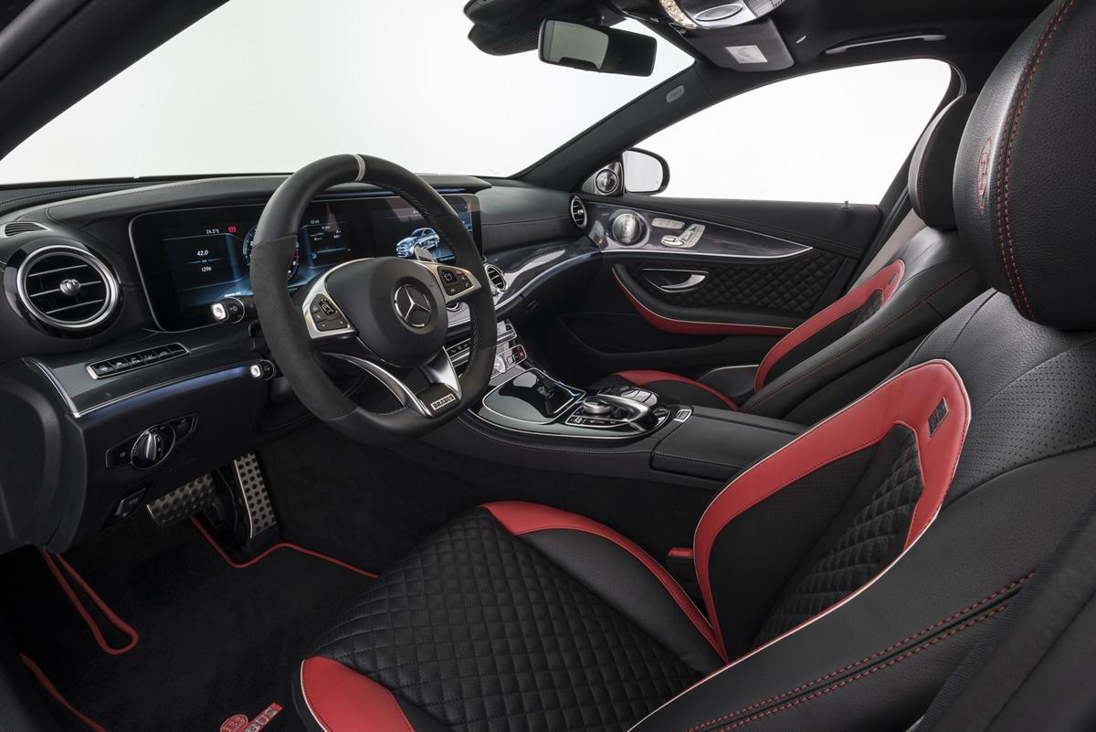 Brabus 2017 Mercedes-AMG E 63 Kokpiti