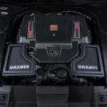 Brabus 2017 Mercedes S65 Cabrio Motoru