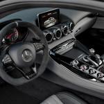 Yeni Mercedes-AMG GT C Edition 50 Kokpiti