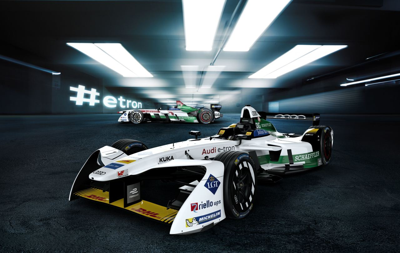 Audi Formula E Aracı e-tron FE04