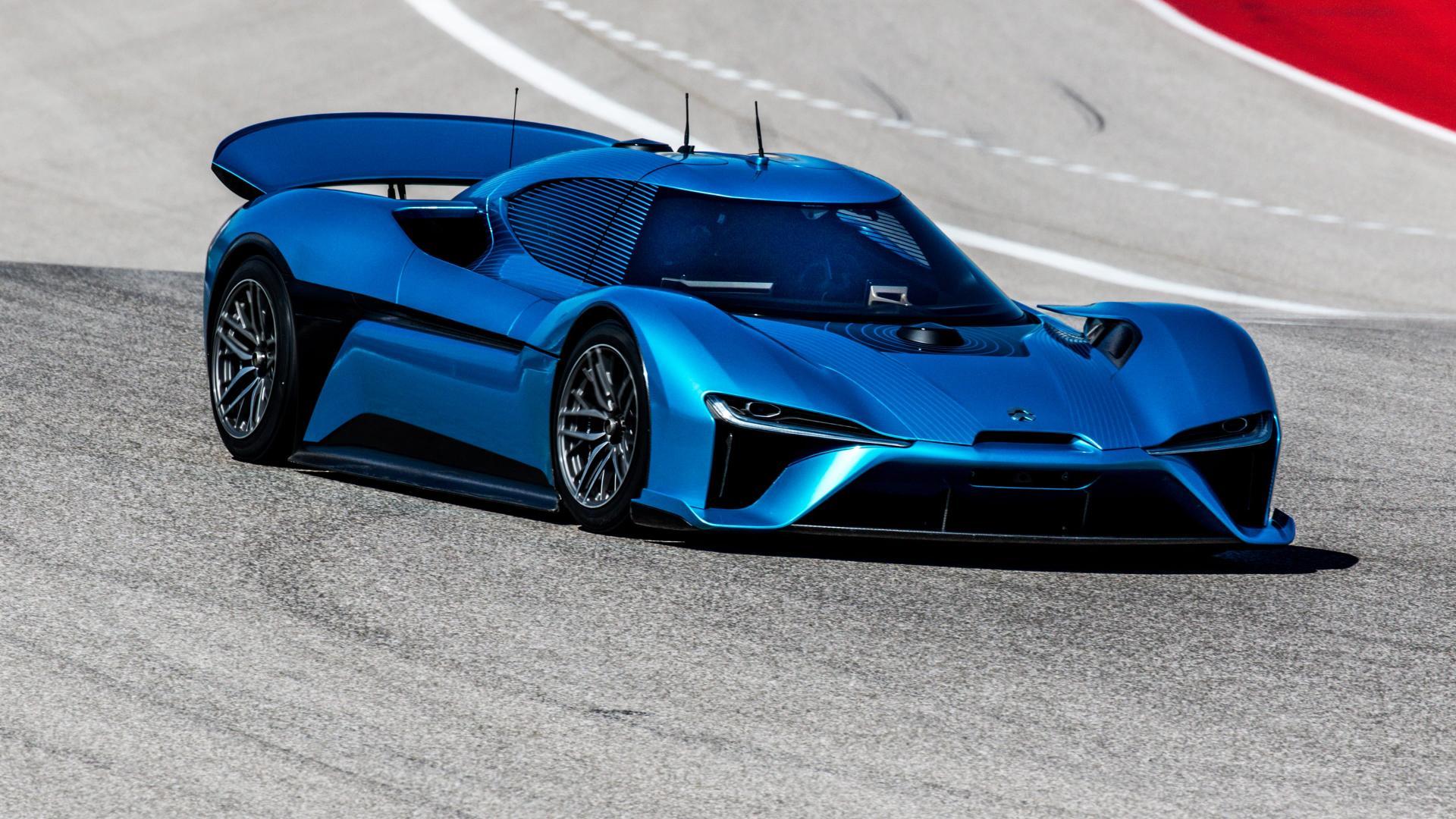 Dünyanın En Hızlı Elektrikli Otomobili NIO EP9
