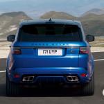 Makyajlı 2018 Yeni Range Rover Sport SVR