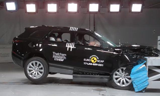 Range Rover Velar, Euro Ncap Çarpışma Test Sonuçları