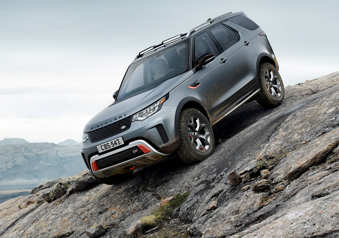 2018 Yeni Land Rover Discovery SVX