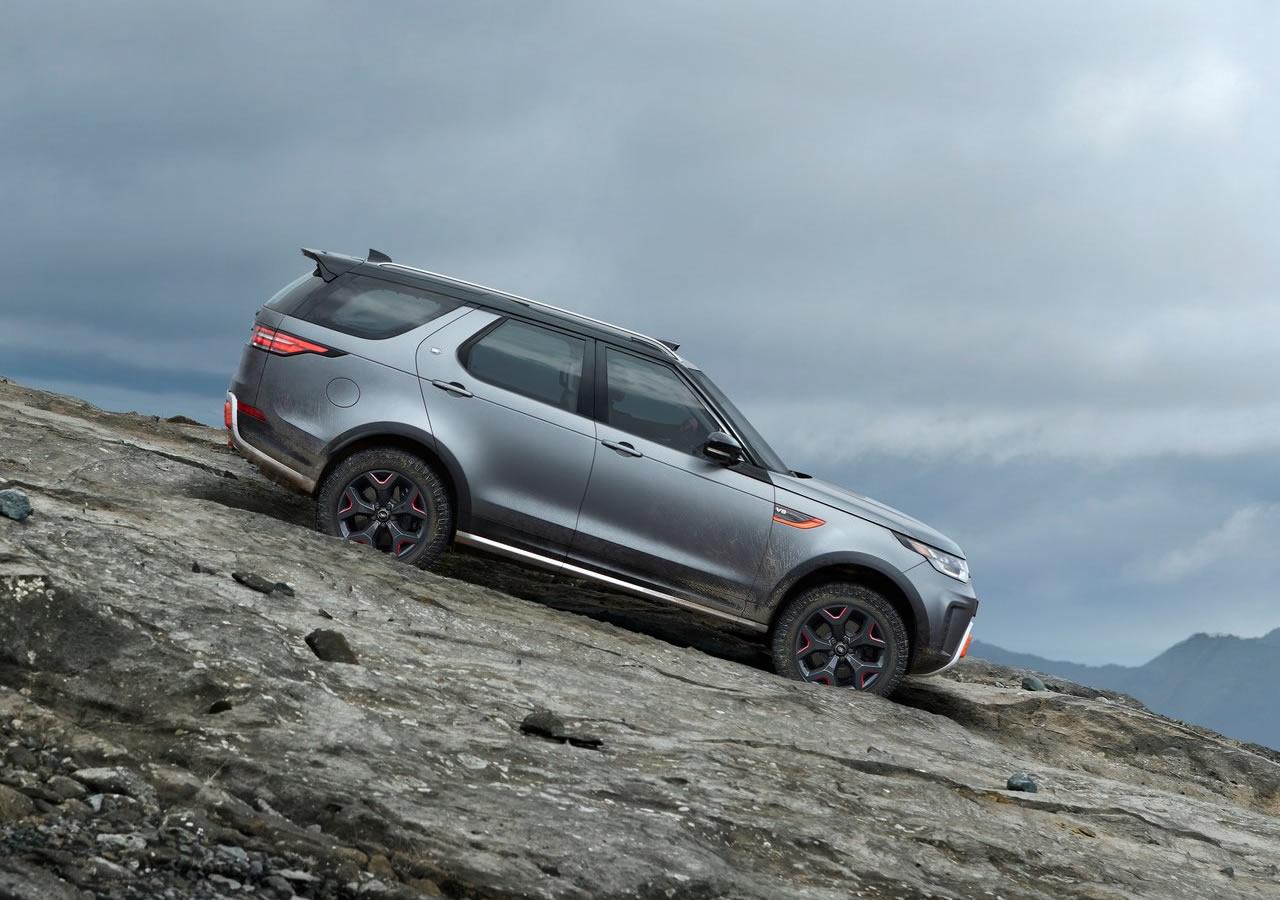 2018 Yeni Land Rover Discovery SVX Teknik Özellikleri