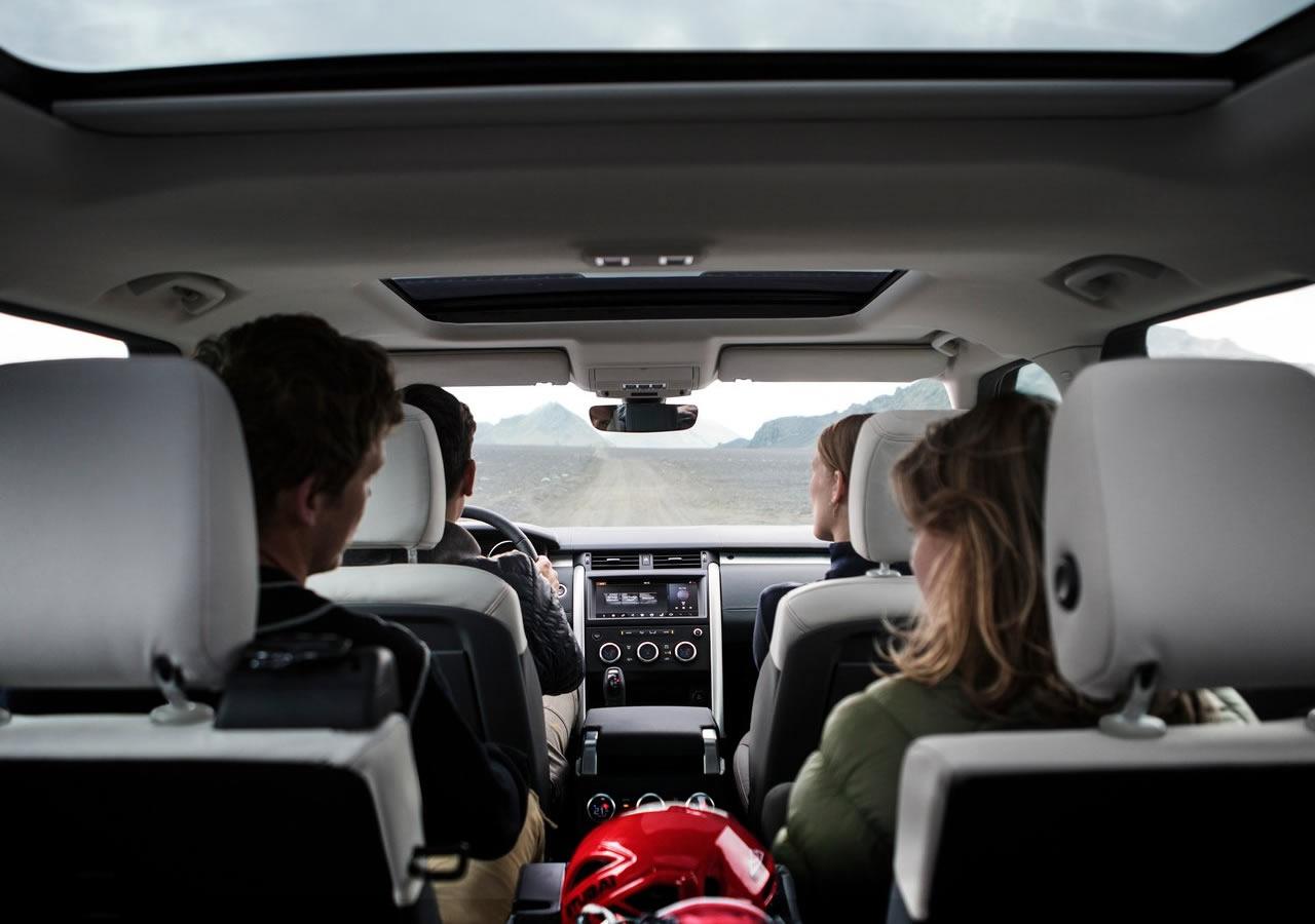Yeni Land Rover Discovery SVX Donanımları