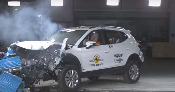 2018 Seat Arona EuroNcap