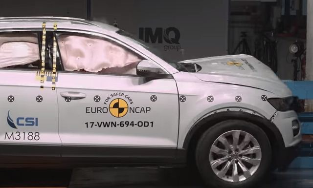 2018 Volkswagen T-Roc EuroNcap