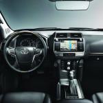 2018 Yeni Toyota Land Cruiser Kokpiti