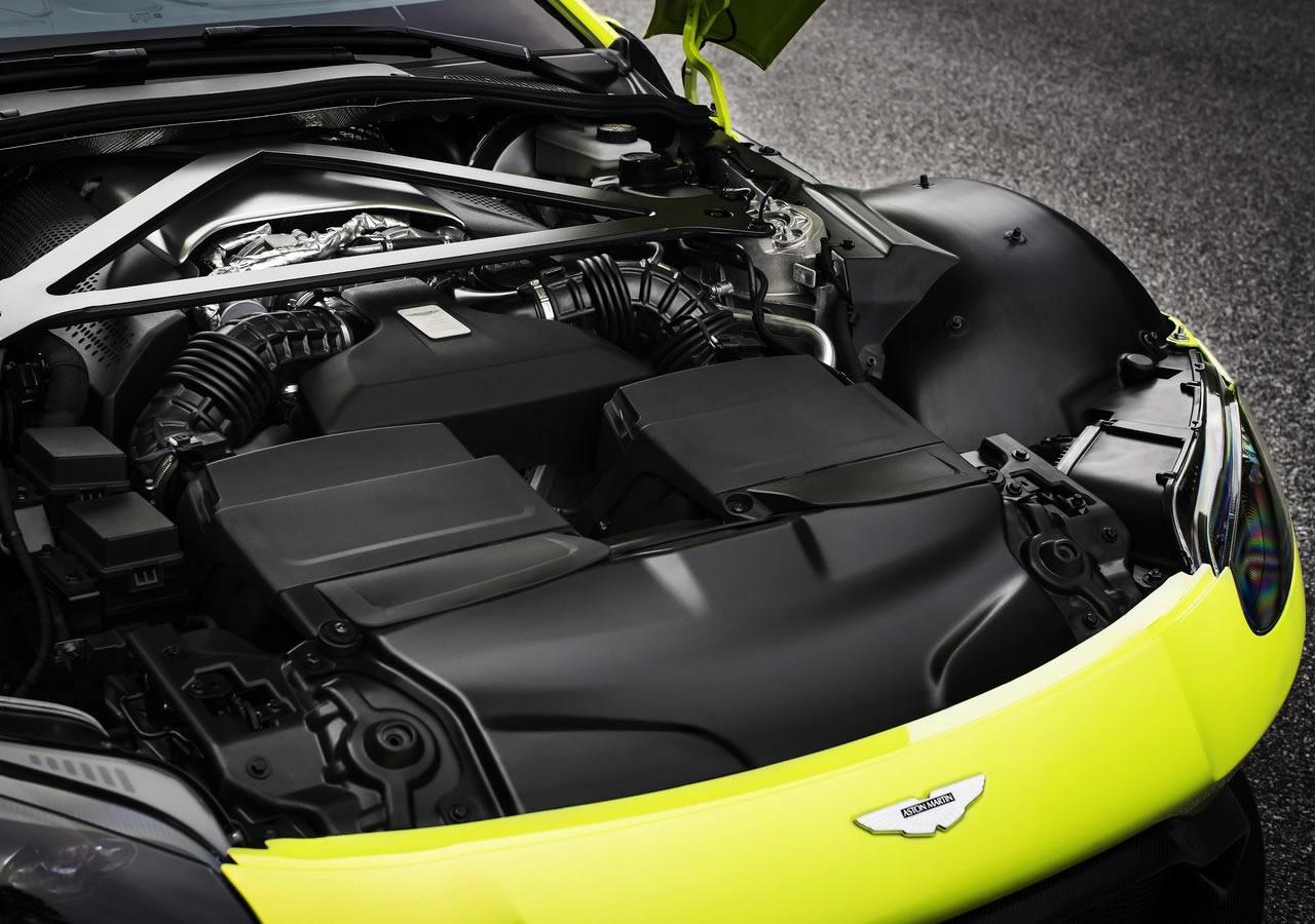 2019 Yeni Aston Martin Vantage Motoru