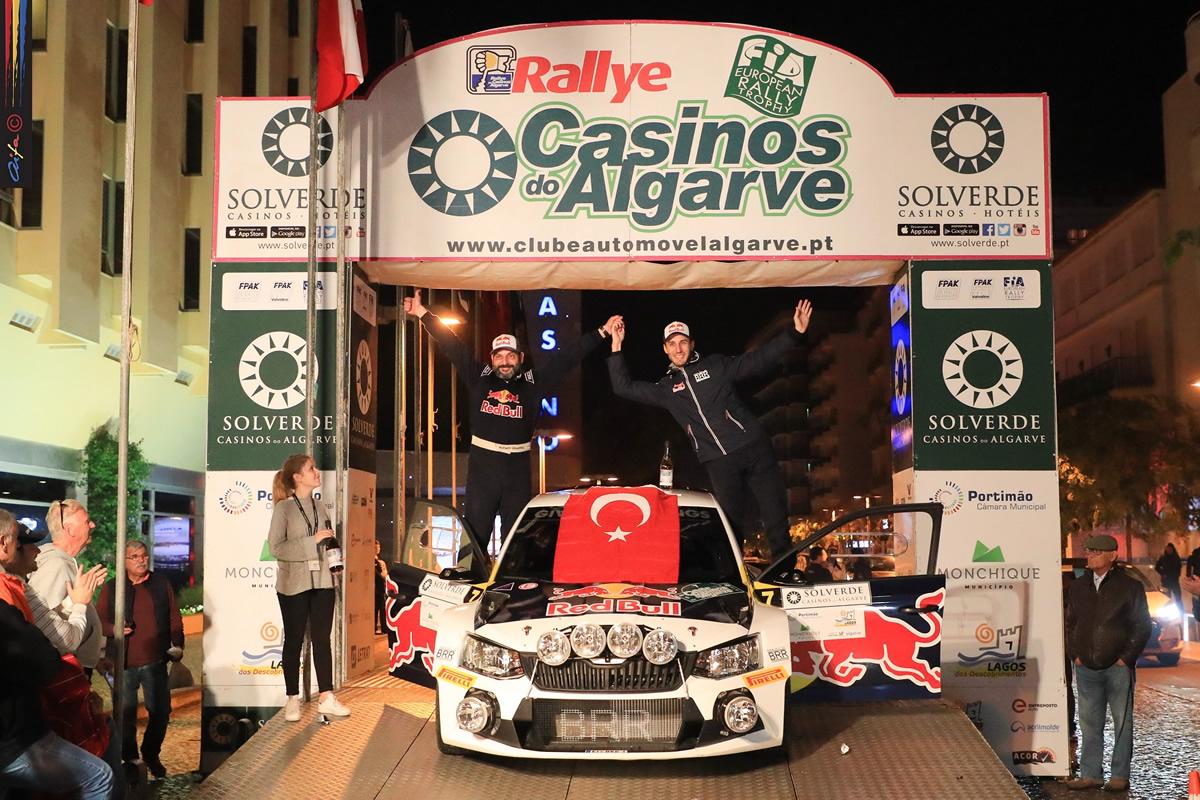 2017 FIA Avrupa Ralli Şampiyonu Yağız Avcı