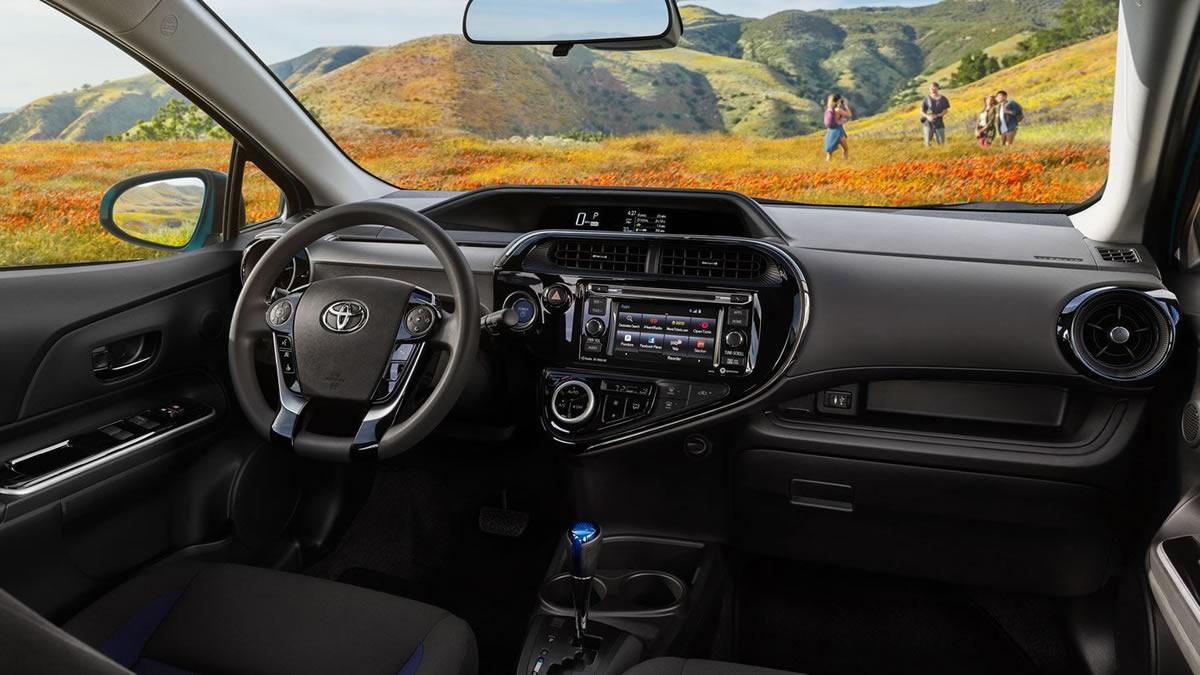 2018 Yeni Toyota Prius c  Kokpiti