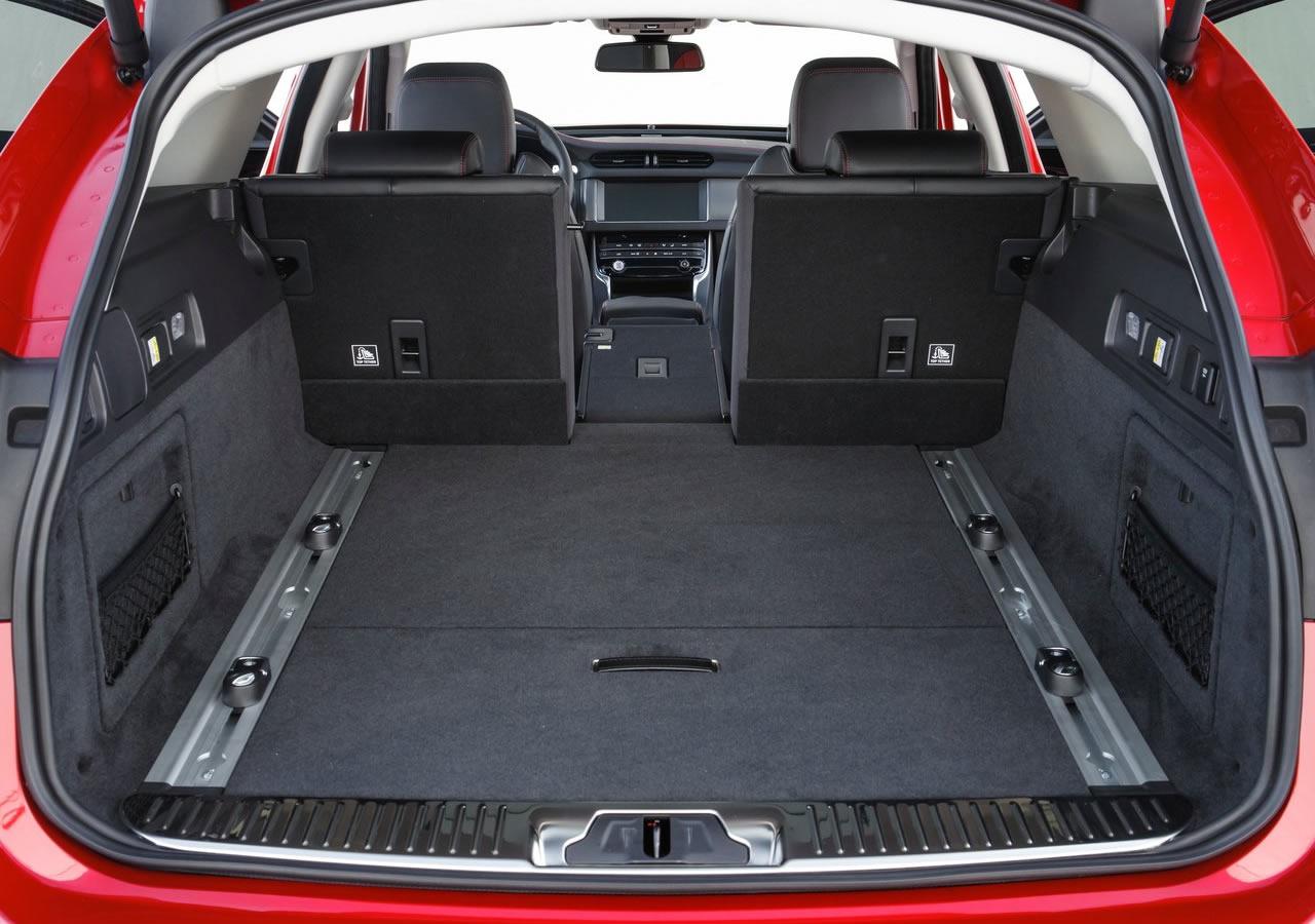 Yeni Jaguar XF Sportbrake Bagaj Alanı