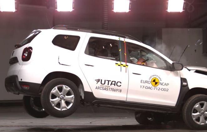 2017 Yeni Dacia Duster Euro Ncap