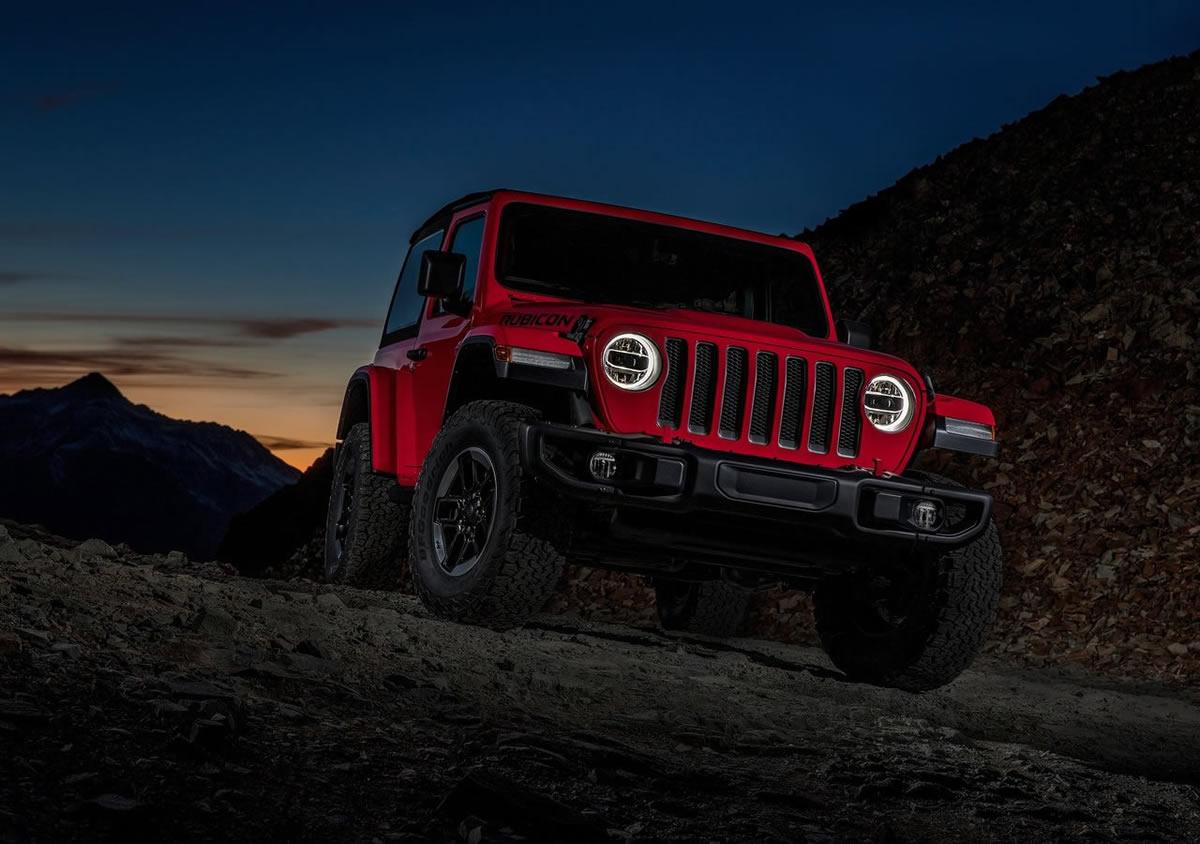 2018 Yeni Kasa Jeep Wrangler