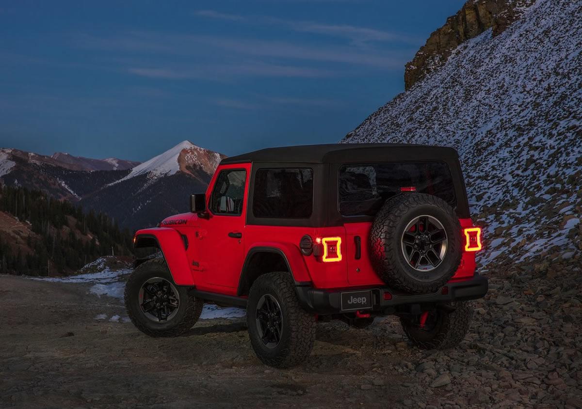 Yeni Jeep Wrangler JL Teknik Özellikleri