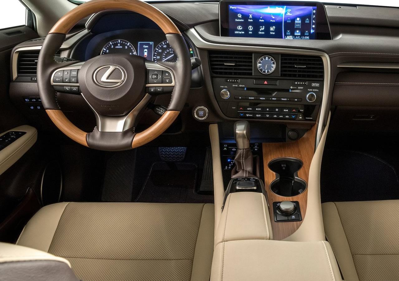 2018 Yeni Lexus RX L İçi