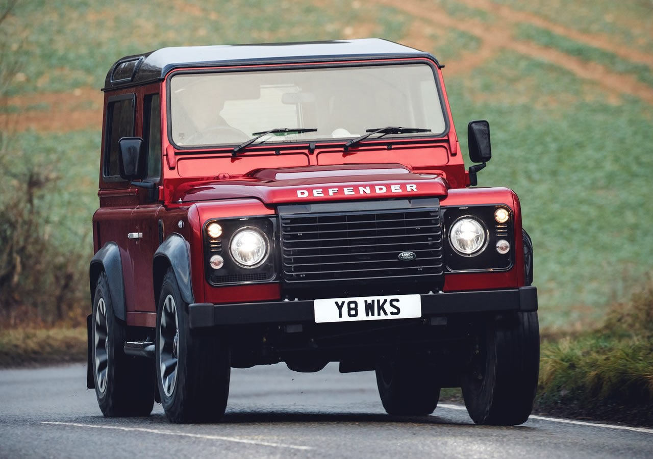 2018 Land Rover Defender Works V8